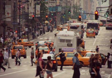 Promenade le long de la 5ème avenue