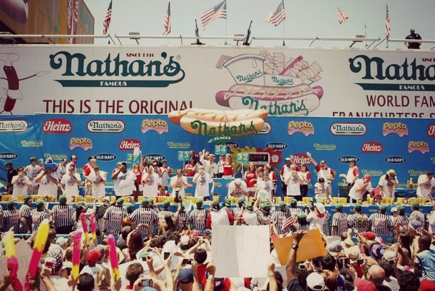 Nathans_Contest_ConeyIsland