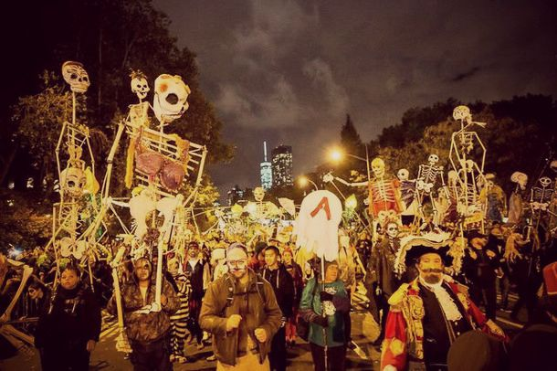 Halloween Parade new york