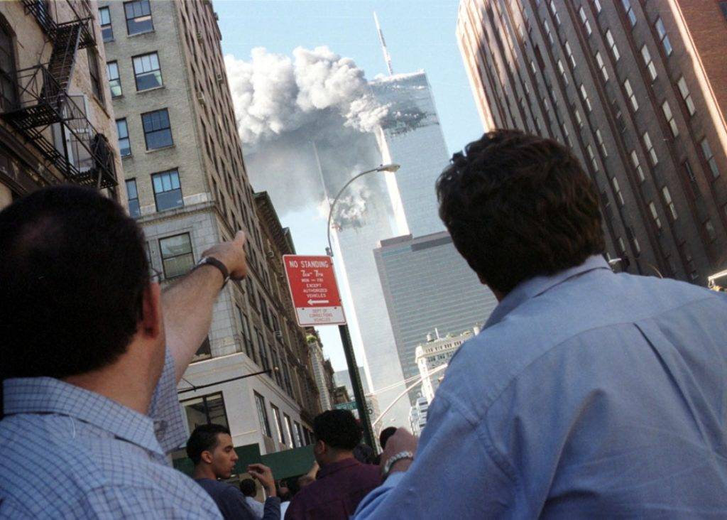 New York, le 11 septembre 2001. reuters