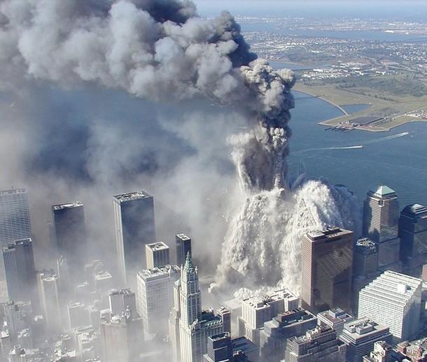 Tour Nord s'effondre WTC