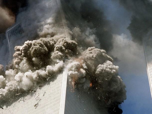 Tour Sud WTC s'effondre
