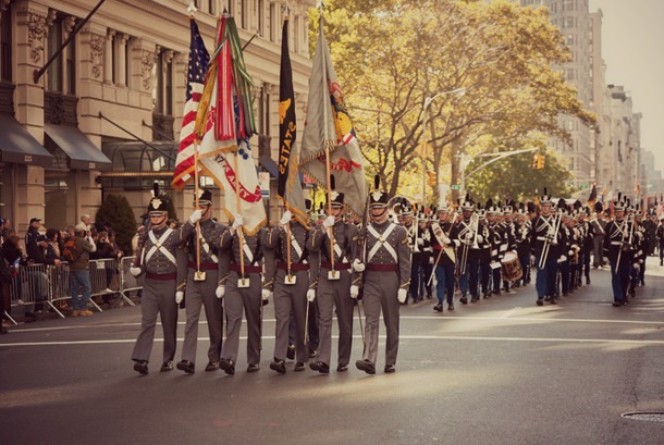veterans day parade new york