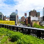 Se balader sur la High Line à New York
