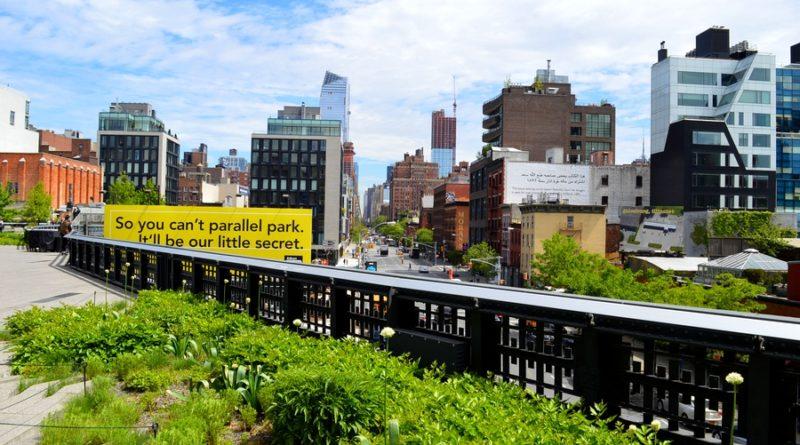 Se balader sur la High Line à New York