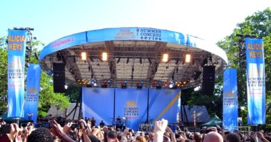 Les concerts de Good Morning America dans Central Park !