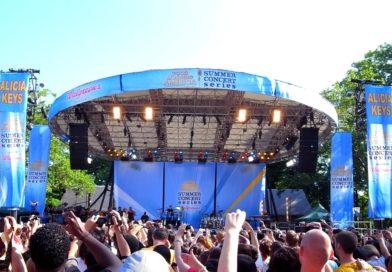 Les concerts de Good Morning America dans Central Park !