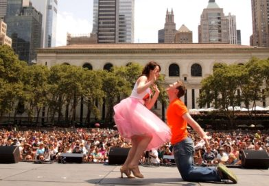 Broadway in Bryant Park !