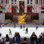 La célèbre patinoire du Rockefeller Center a ouvert ses portes !