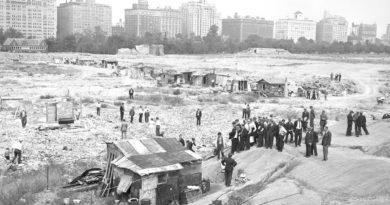 Quand Central Park était un bidonville