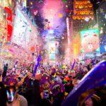Fêter la nouvelle année à Times Square
