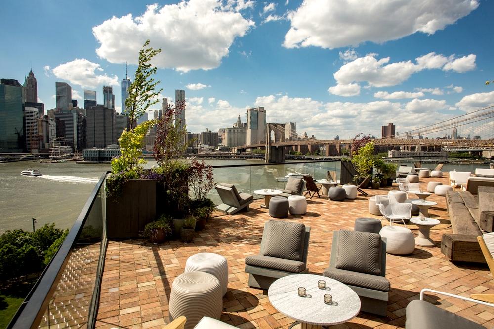 New york vue par vincent bezecourt joueur des new york for 1 hotel brooklyn bridge