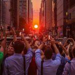 Manhattanhenge : un incroyable coucher de soleil à New York!